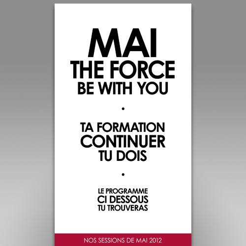 Mai the force be with you